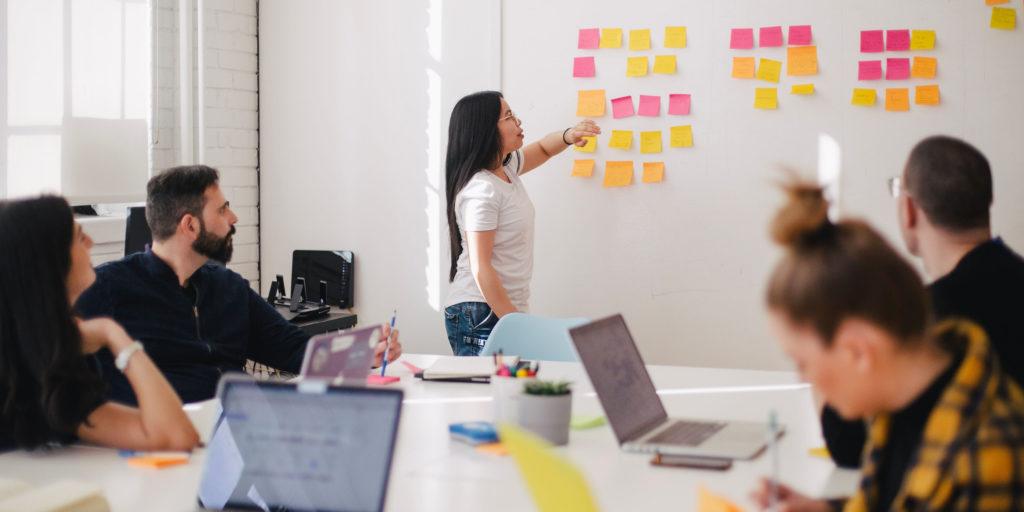 Design Thinking Wall