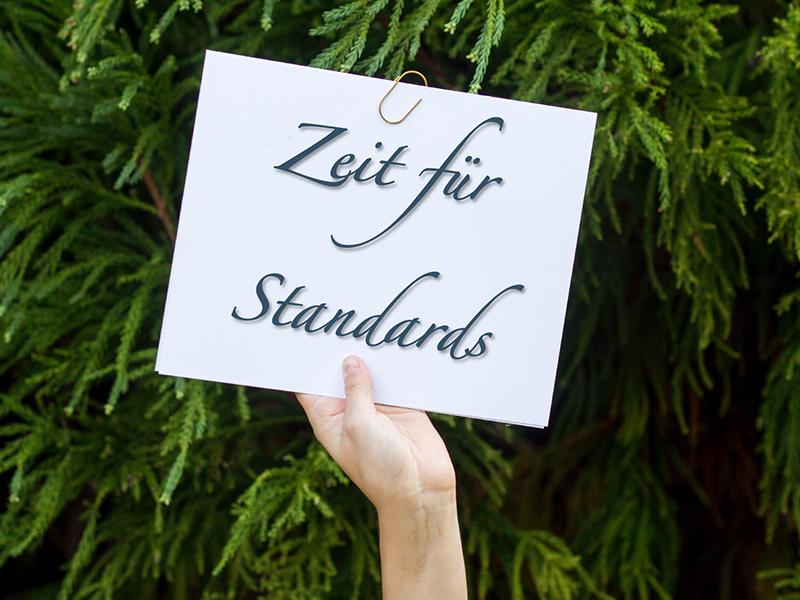 Zeit für Standards